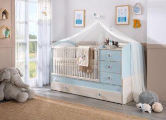 Πως μετατρέπεται ένα βρεφικό κρεβάτι σε παιδικό;