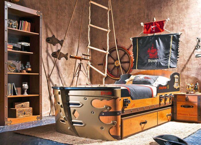 Πειρατικό κρεβάτι