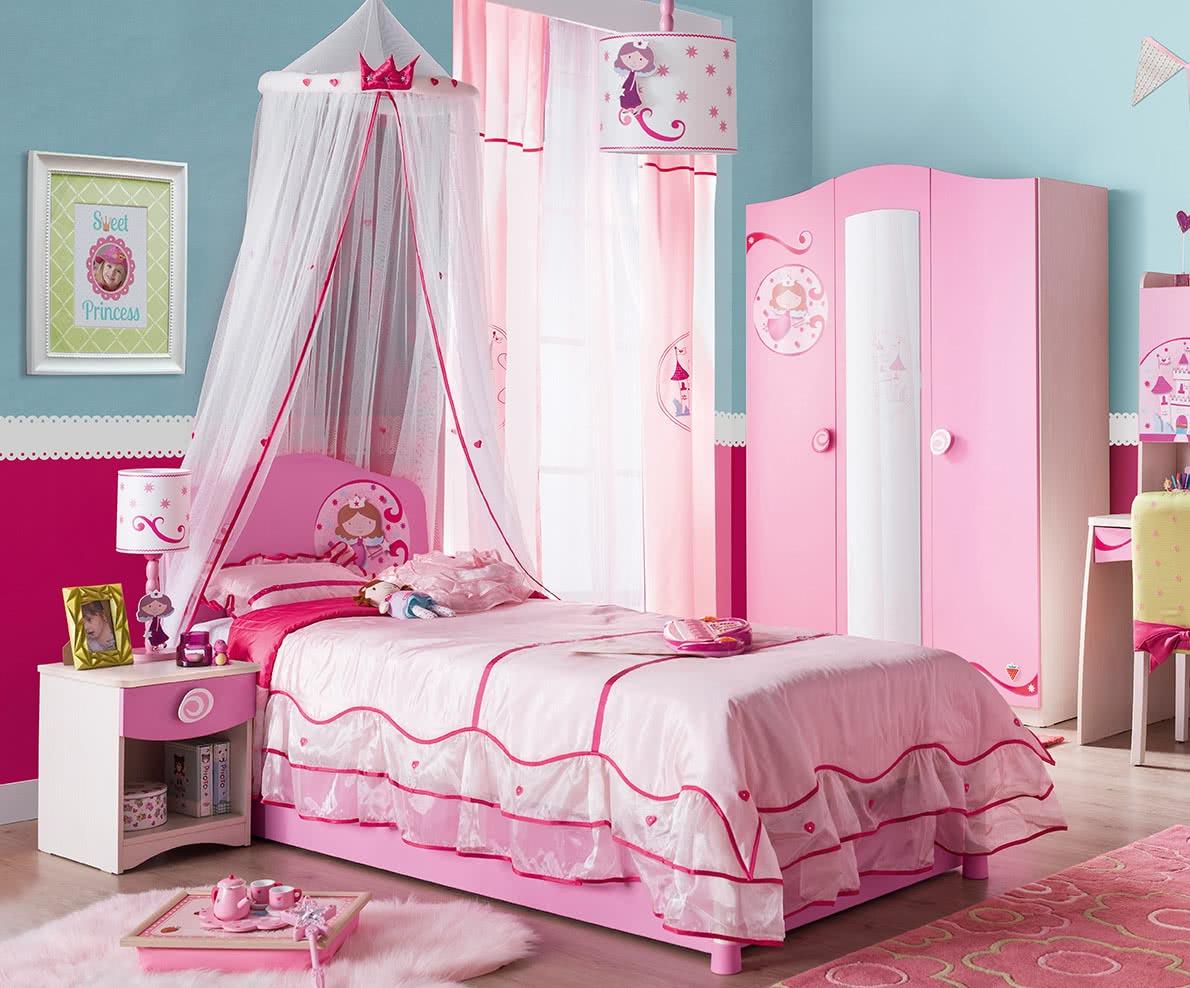 eb49756deab ... Παιδική κουκέτα Princess · Συρταριέρα Princess · Κουνουπιέρα Princess