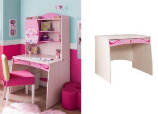 8 παιδικά γραφεία για κορίτσια